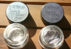 Catrice Made to stay longlasting eyeshadow, 040 Lord of the Blings, 070 Mauvie Star